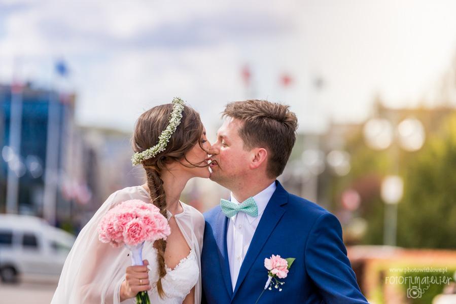 Marta i Marcin_reportaż ślubny Gdynia Gdańsk Trójmiasto Rewa