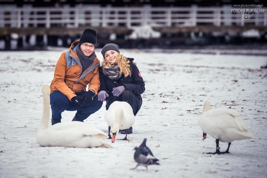 Sesja dla zakochanych – Ola i Łukasz – Sopot / Trójmiasto
