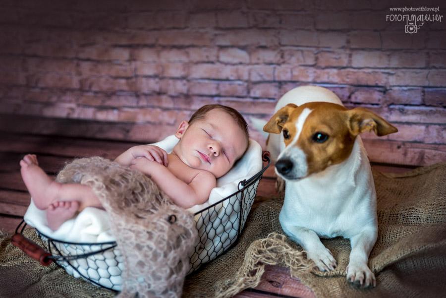 Sesja noworodkowa Leo_fotografia dziecięca Trójmiasto, Gdynia, Reda