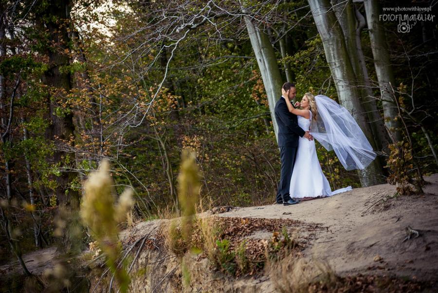 Justyna i Mariusz – fotoreportaż ślubny z ich Wielkiego Dnia