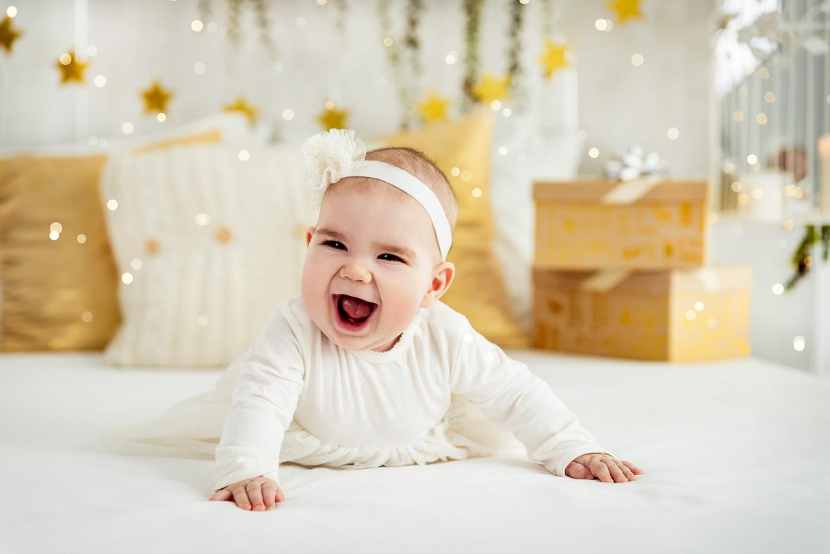 uśmiech dziecka sesja zdjęciowa Reda