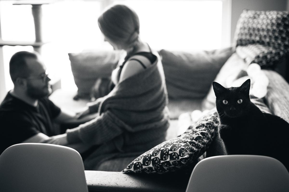 zdjęcia ciażowe czarno białe