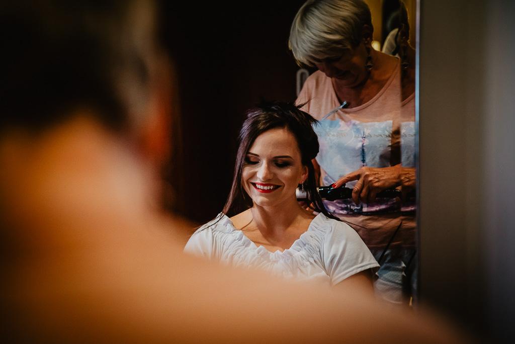 fryzura do ślubu dla panny dla młodej Trójmiasto
