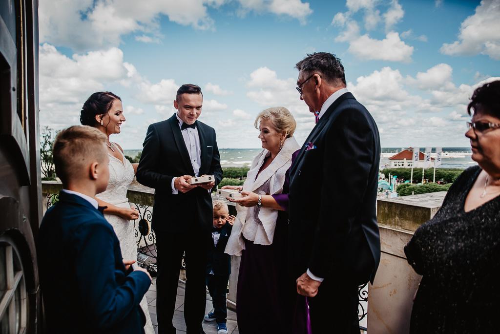 prezenty dla rodziców od pary młodej ślub Trójmiasto Gdańsk