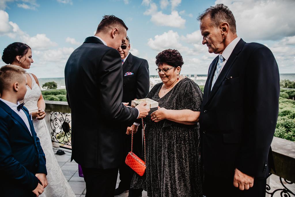 prezenty dla rodziców od pary młodej ślub Trójmiasto Gdynia
