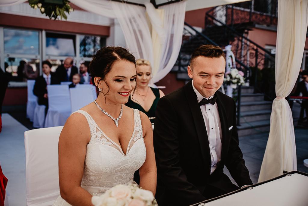 ślub cywilny w plenerze Trójmiasto