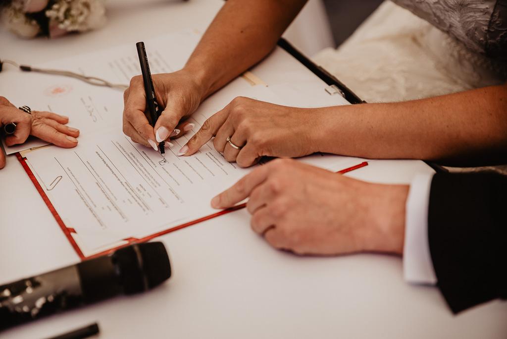 podpisy ślub cywilny forrmalności