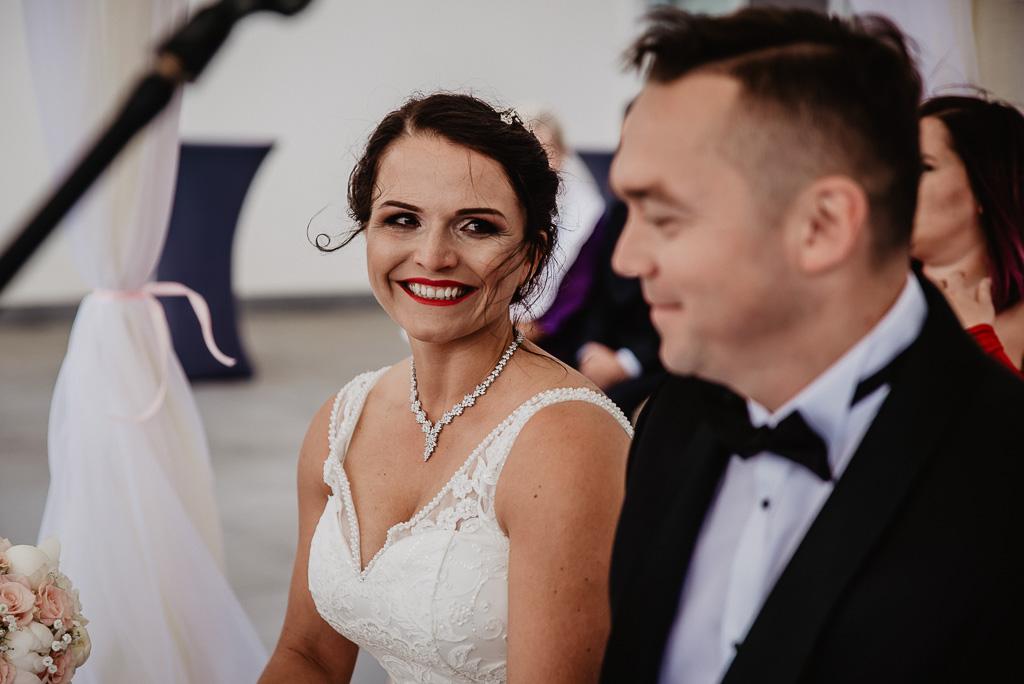 ceremonia łzy wzruszenia fotograf na ślub Trójmiasto