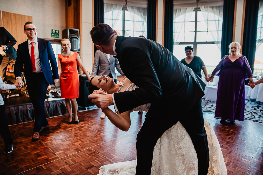 pierwszy taniec pary młodej Trójmiasto