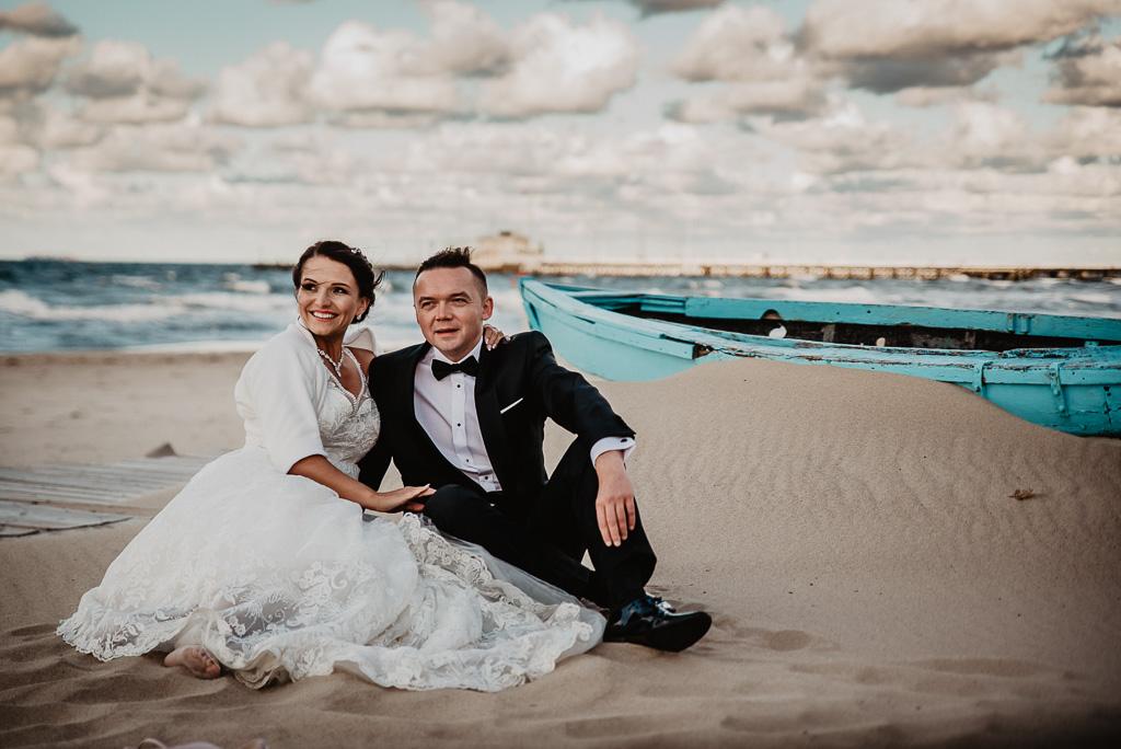 ślubna sesja plenerowa w Sopocie fotograf