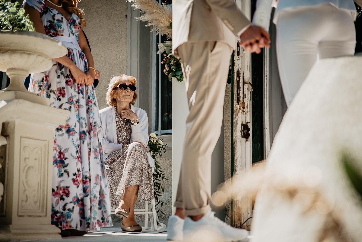 babcia na ślubie Trójmiasto