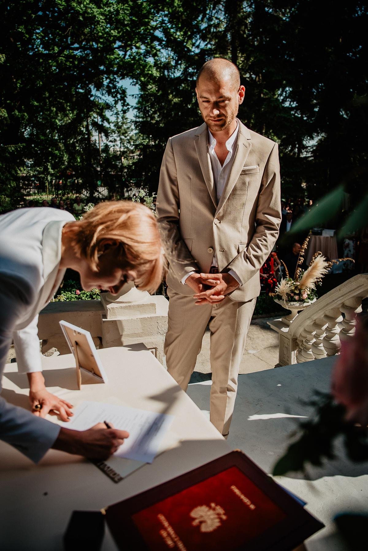 para młoda podczas zaślubin Trójmiasto