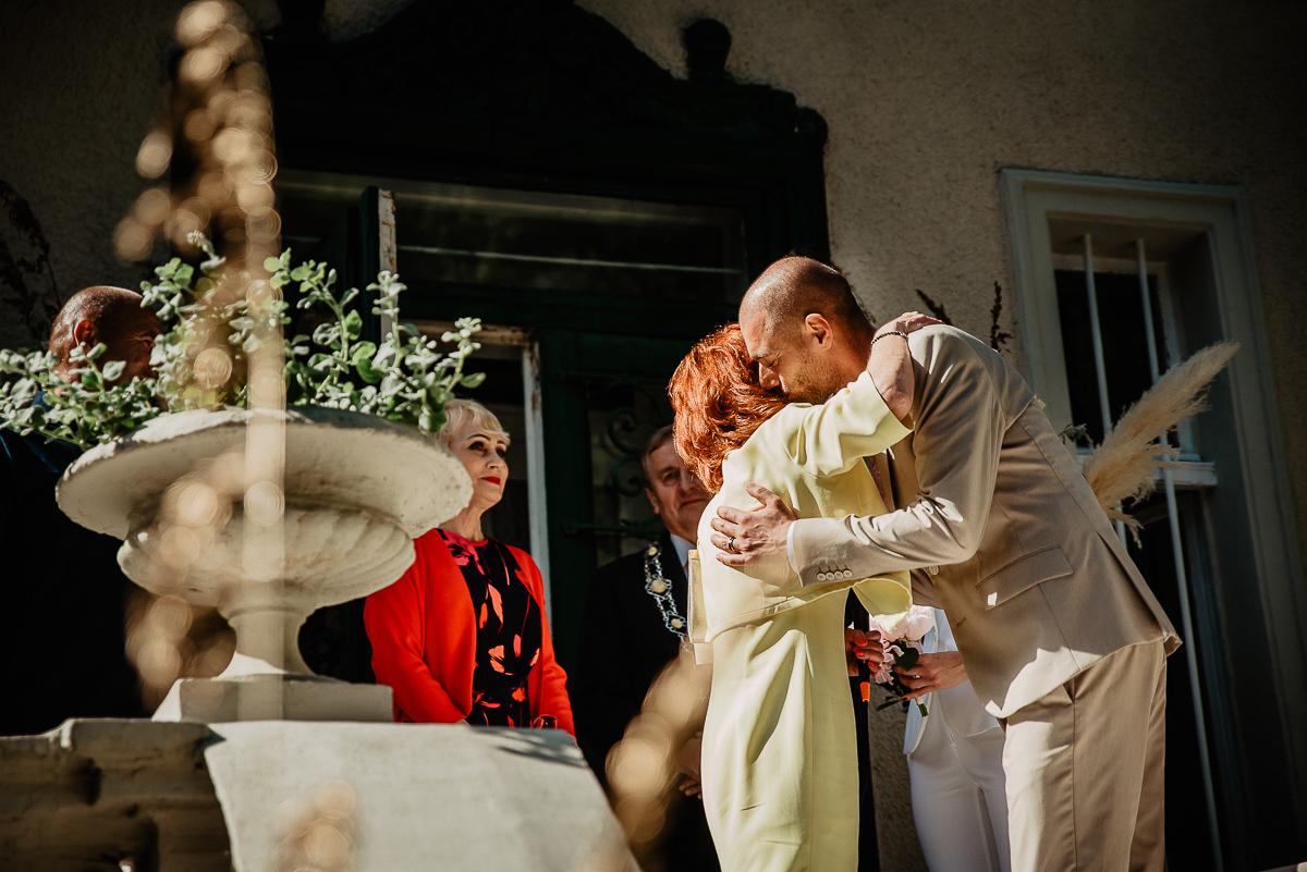 życzenia goście ślub cywilny w ogrodzie