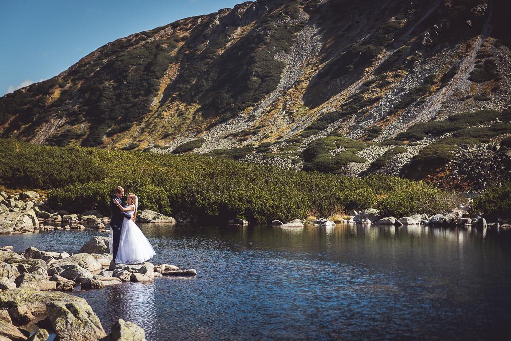 Palenica sesja zdjęciowa ślubna
