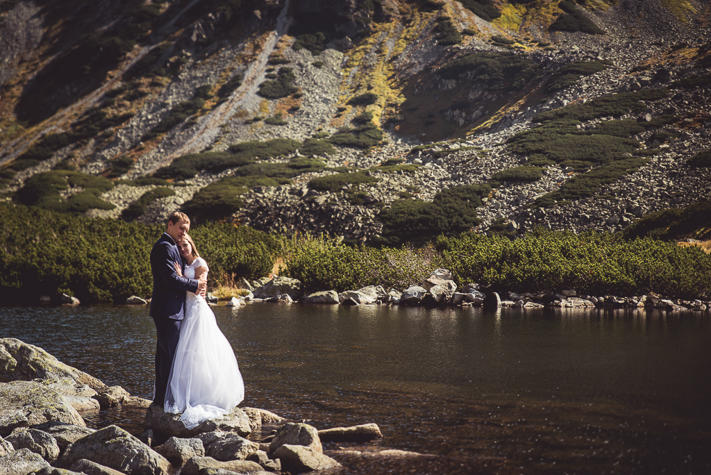 Sesja zdjęciowa ślubna w górach Palenica
