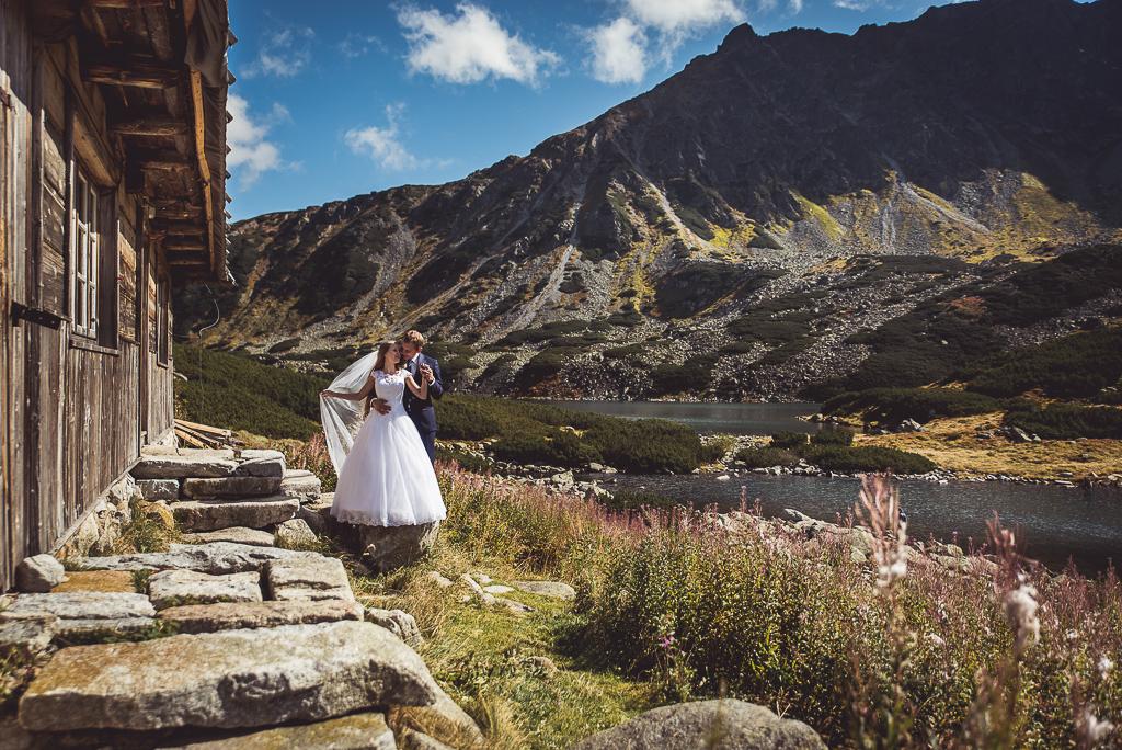 Sesja zdjęciowa ślubna w górach