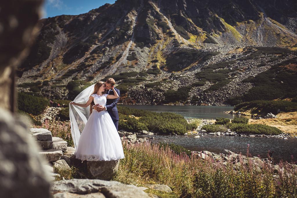Sesja zdjęciowa młodej pary w Zakopanem